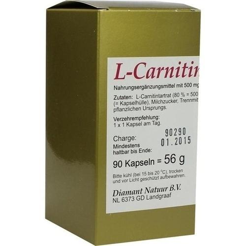 L-Carnitin 1 X 1 pro Tag, 90 ST, Fbk-Pharma GmbH