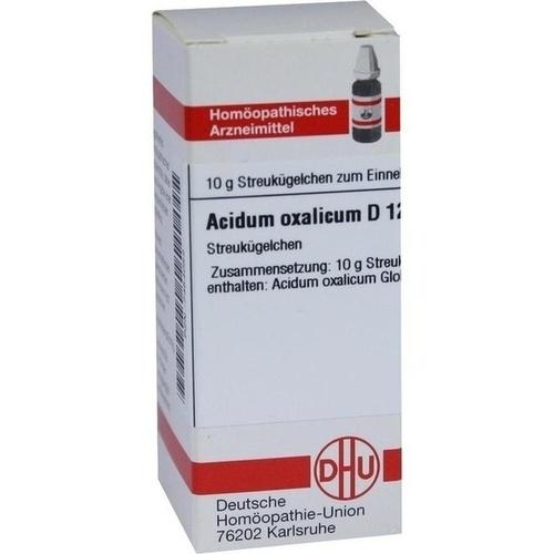 ACIDUM OXALICUM D12, 10 G, Dhu-Arzneimittel GmbH & Co. KG