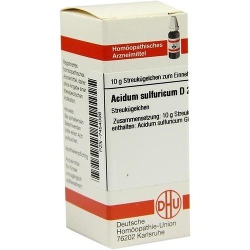ACIDUM SULFURICUM D200, 10 G, Dhu-Arzneimittel GmbH & Co. KG