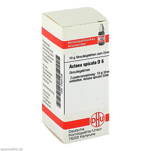 ACTAEA SPICATA D 6, 10 G, Dhu-Arzneimittel GmbH & Co. KG