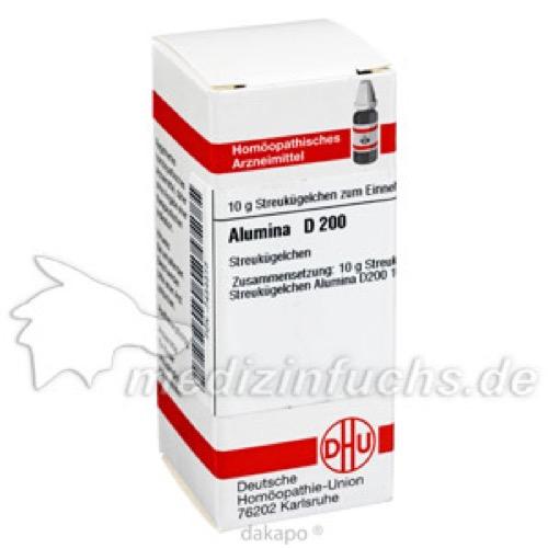 ALUMINA D 200 Globuli, 10 G, DHU-Arzneimittel GmbH & Co. KG