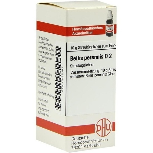 BELLIS PERENNIS D 2, 10 G, Dhu-Arzneimittel GmbH & Co. KG