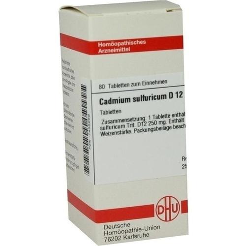 CADMIUM SULFURICUM D12, 80 ST, Dhu-Arzneimittel GmbH & Co. KG