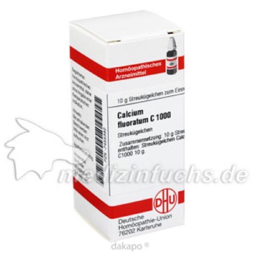 CALCIUM FLUORATUM C1000, 10 G, Dhu-Arzneimittel GmbH & Co. KG