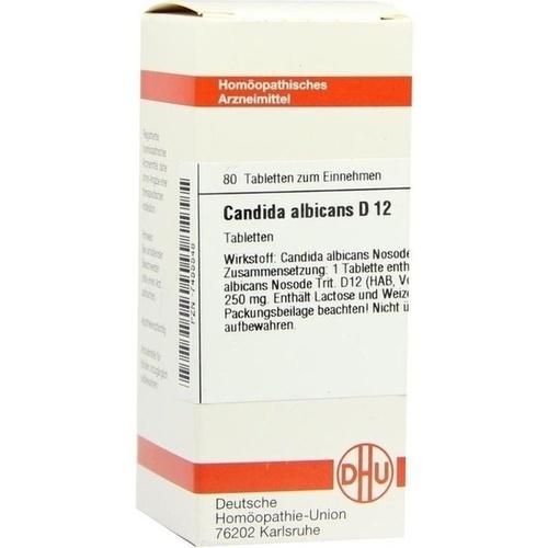 CANDIDA ALBICANS D12, 80 ST, Dhu-Arzneimittel GmbH & Co. KG