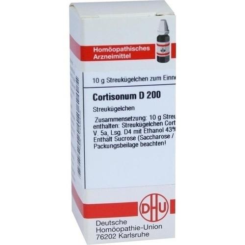 CORTISONUM D 200 Globuli, 10 G, DHU-Arzneimittel GmbH & Co. KG