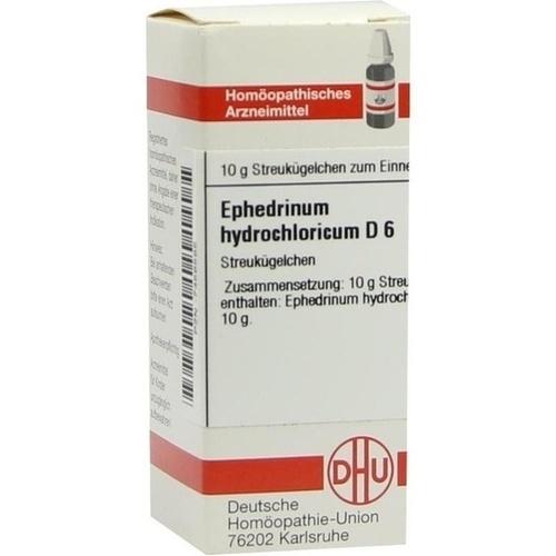 EPHEDRINUM hydrochloricum D 6 Globuli, 10 G, DHU-Arzneimittel GmbH & Co. KG