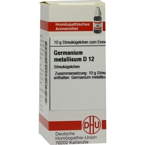 GERMANIUM METALLICUM D12, 10 G, Dhu-Arzneimittel GmbH & Co. KG