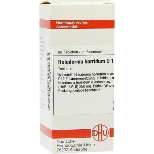 HELODERMA HORRIDUM D12, 80 ST, Dhu-Arzneimittel GmbH & Co. KG