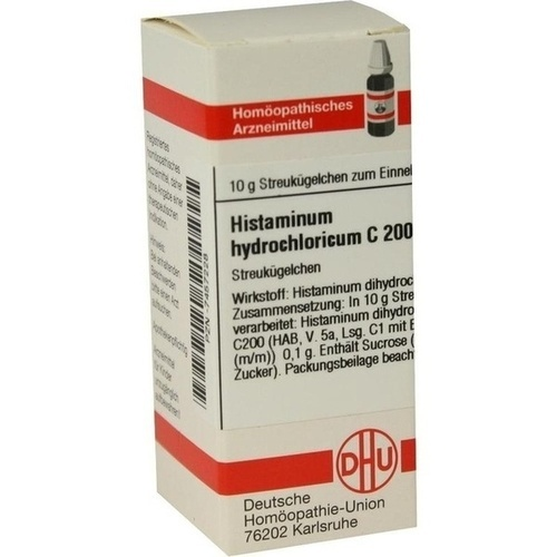 HISTAMINUM HYDROCHLOR C200, 10 G, Dhu-Arzneimittel GmbH & Co. KG