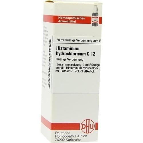 HISTAMINUM HYDROCHLOR C12, 20 ML, Dhu-Arzneimittel GmbH & Co. KG