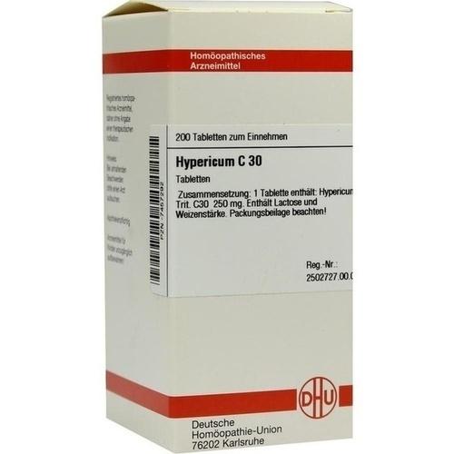 HYPERICUM C30, 200 ST, Dhu-Arzneimittel GmbH & Co. KG