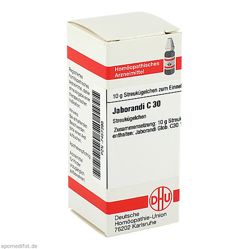 JABORANDI C30, 10 G, Dhu-Arzneimittel GmbH & Co. KG