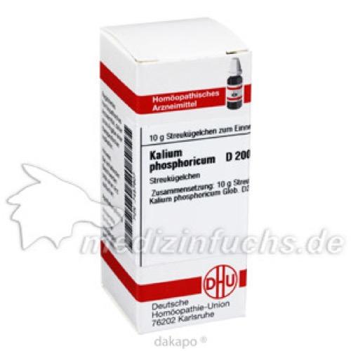 KALIUM PHOS D200, 10 G, Dhu-Arzneimittel GmbH & Co. KG