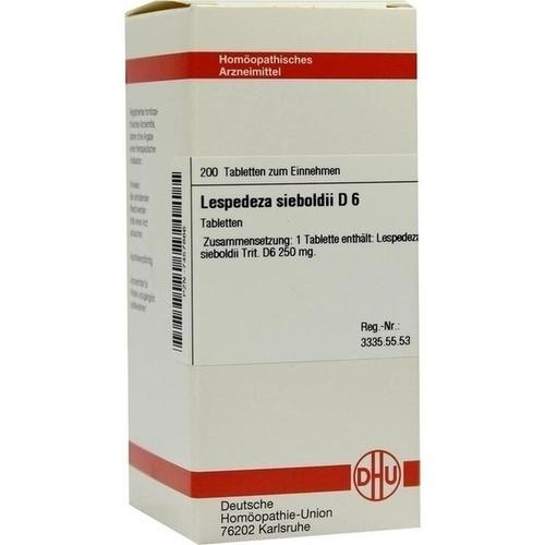 LESPEDEZA SIEBOLDII D 6, 200 ST, Dhu-Arzneimittel GmbH & Co. KG