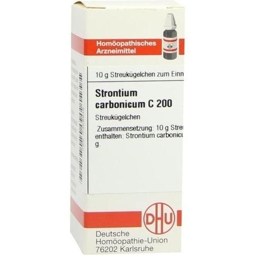 STRONTIUM CARBONICUM C200, 10 G, Dhu-Arzneimittel GmbH & Co. KG