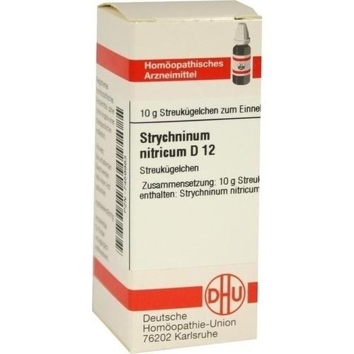 STRYCHNINUM NITRICUM D12, 10 G, Dhu-Arzneimittel GmbH & Co. KG