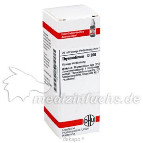 THYREOIDINUM D200, 20 ML, Dhu-Arzneimittel GmbH & Co. KG