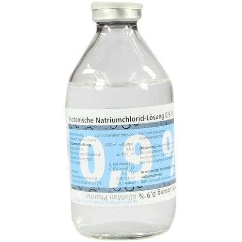 Isotonische NaCl 0.9% DELTAMEDICA Glasinf., 1X250 ML, DELTAMEDICA GmbH