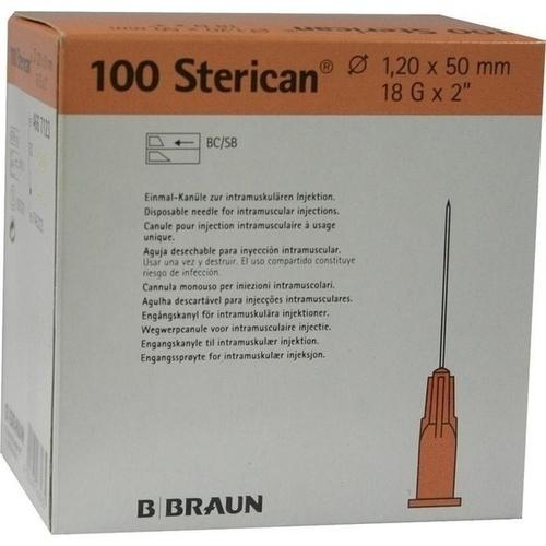 Sterican 18GX2 Kanülen 1.2X50mm, 100 ST, B. Braun Melsungen AG