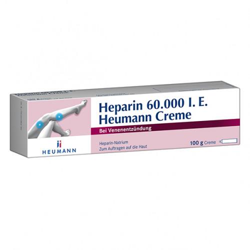 Heparin 60000 Heumann Creme, 100 G, Heumann Pharma GmbH & Co. Generica KG