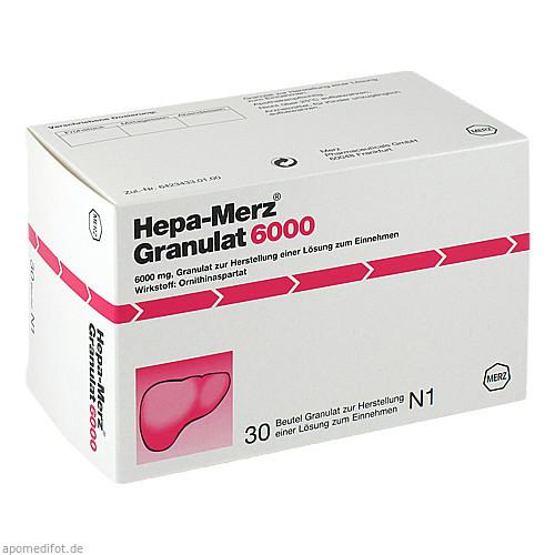 Hepa Merz Granulat 6000 BTL, 30 ST, Merz Pharmaceuticals GmbH