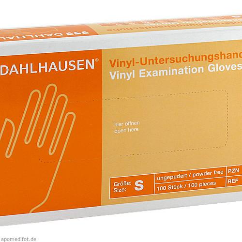 Vinyl-Handschuhe ungep. Gr. S, 100 ST, P.J.Dahlhausen & Co. GmbH