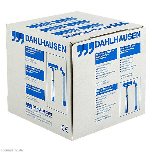 Einmal-Rasierer einschn. MONOMED, 100 ST, P.J.Dahlhausen & Co. GmbH