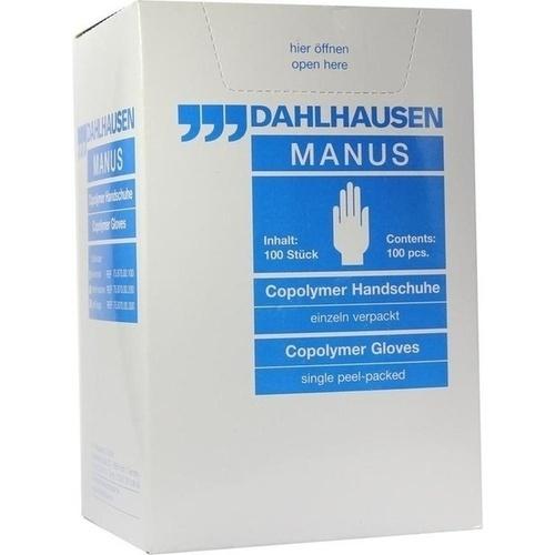 Copolymer Handschuhe steril Gr. S, 100 ST, P.J.Dahlhausen & Co. GmbH