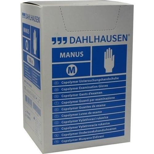 Copolymer Handschuhe steril Gr. M, 100 ST, P.J.Dahlhausen & Co. GmbH