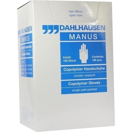 Copolymer Handschuhe steril Gr. L, 100 ST, P.J.Dahlhausen & Co. GmbH