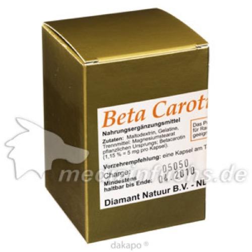 Beta Carotin, 60 ST, Fbk-Pharma GmbH