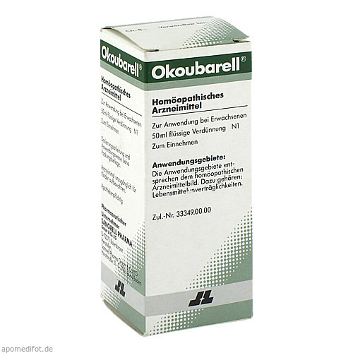 Okoubarell, 50 ML, Sanorell Pharma GmbH & Co. KG