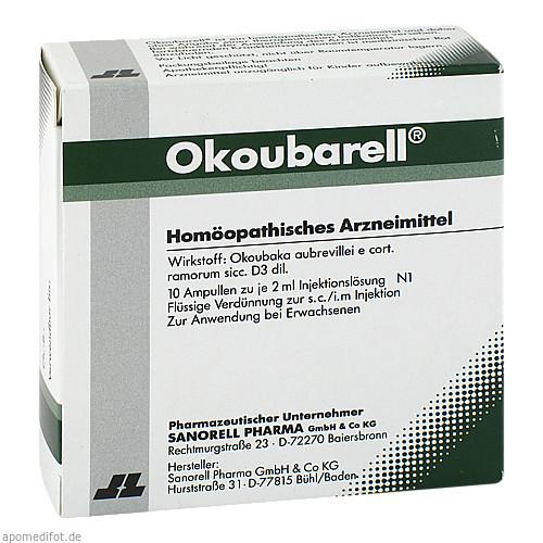 Okoubarell, 10X2 ML, sanorell pharma GmbH & Co KG