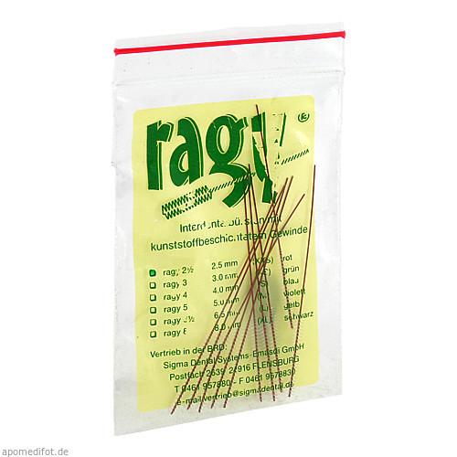 ragy-Interdentalbürsten 2 1/2 rot, 10 ST, Sigma Dental Systems-Emasdi GmbH