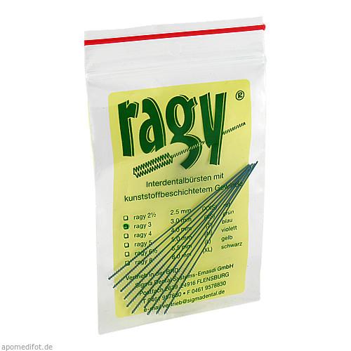 ragy-Interdentalbürsten 3 grün, 10 ST, Sigma Dental Systems-Emasdi GmbH