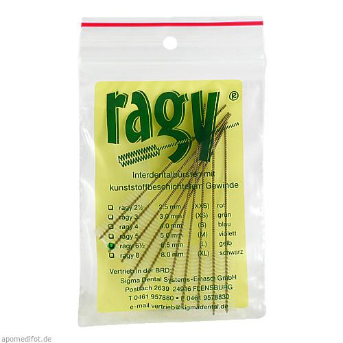 ragy-Interdentalbürsten 6 1/2 gelb, 10 ST, Sigma Dental Systems-Emasdi GmbH