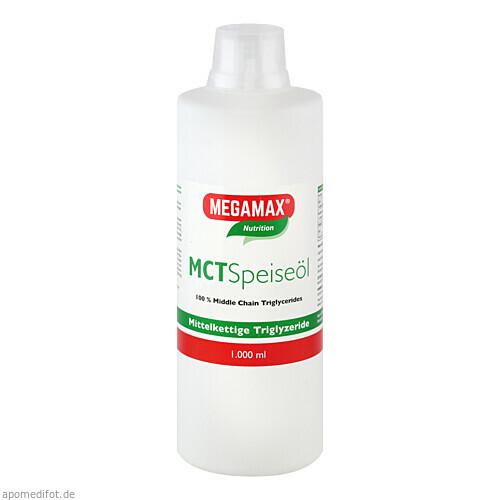 MCT 100% rein Megamax, 1000 ML, Megamax B.V.