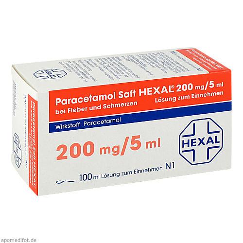Paracetamol Saft Hexal, 100 ML, HEXAL AG
