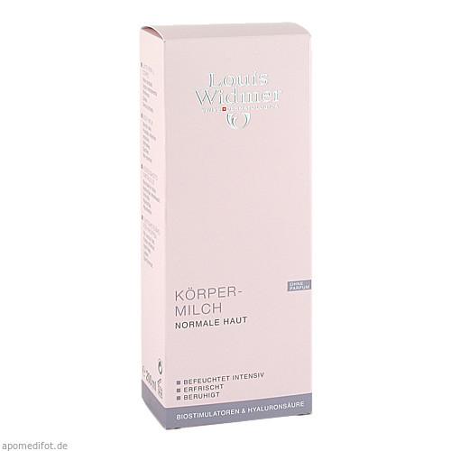 WIDMER Körpermilch unparfümiert, 200 ML, Louis Widmer GmbH