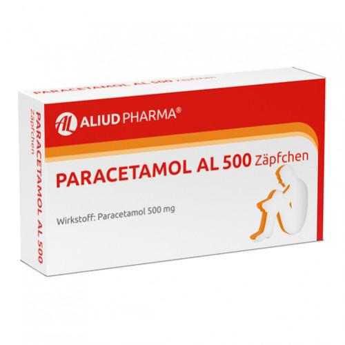 Paracetamol Al 500, 10 ST, Aliud Pharma GmbH