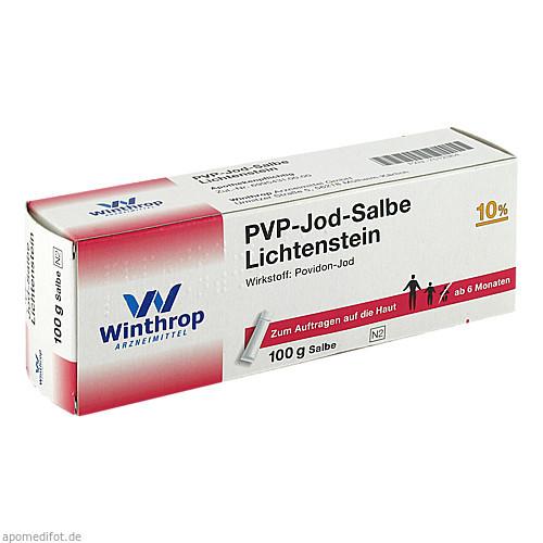 PVP-Jod Salbe Lichtenstein, 100 G, Zentiva Pharma GmbH