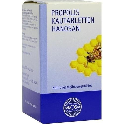 PROPOLIS KAUTABLETTEN HANOSAN, 100 ST, Hanosan GmbH