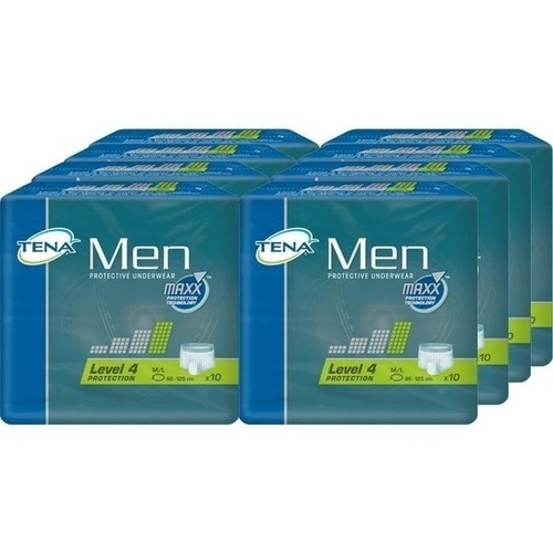 TENA Men Protective Underwear Level 4 M/L, 8X10 ST, Essity Germany GmbH