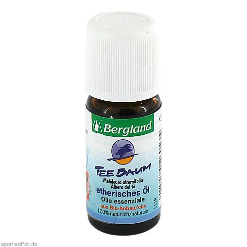 Teebaum Öl kbA aus kontrolliert biologischem Anbau, 10 ML, Bergland-Pharma GmbH & Co. KG