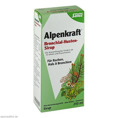 Alpenkraft Bronchial-Husten-Sirup Salus, 250 ML, Salus Pharma GmbH