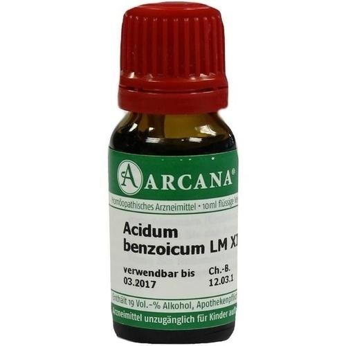 ACIDUM BENZOICUM LM 12, 10 ML, Arcana Arzneimittel-Herstellung Dr. Sewerin GmbH & Co. KG
