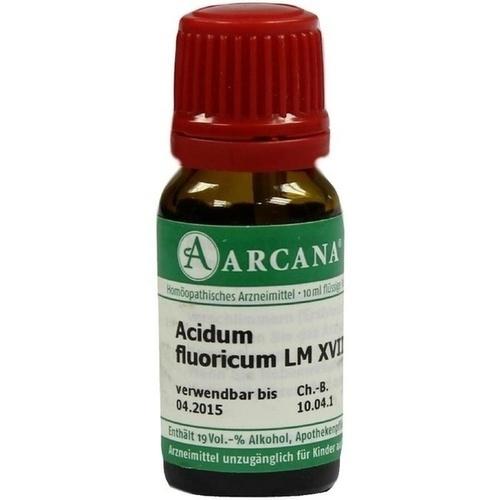 ACIDUM FLUORICUM LM 18 Dilution, 10 ML, ARCANA Dr. Sewerin GmbH & Co.KG