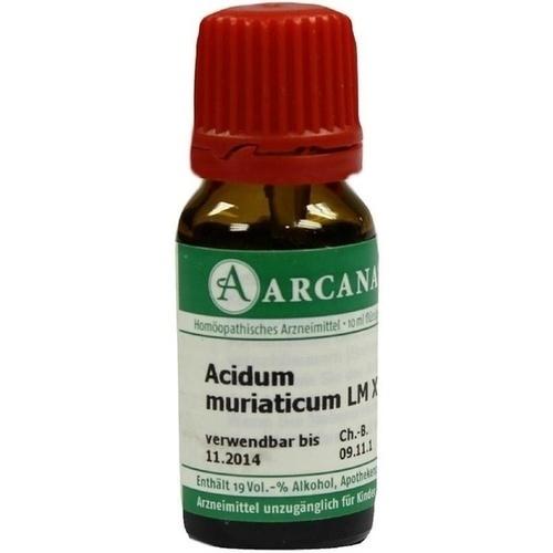 ACIDUM MURIAT LM 18, 10 ML, ARCANA Dr. Sewerin GmbH & Co. KG