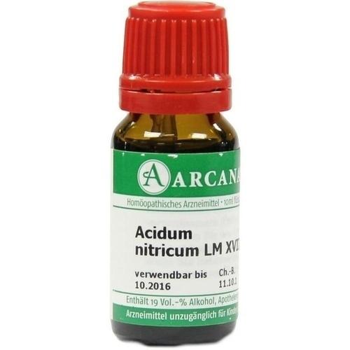 ACIDUM NITR LM 18, 10 ML, Arcana Arzneimittel-Herstellung Dr. Sewerin GmbH & Co. KG